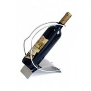 Stojan na lahev vína, z nerezu, Stoper