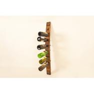 Dubový stojan na 6 lahví vína - Chianti
