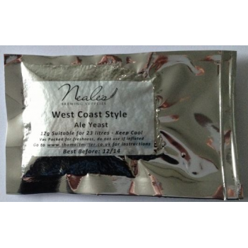 NBS West Coast Style Ale Yeast