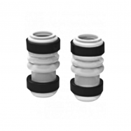 Grainfather silicone tubes with fixing rings for pump