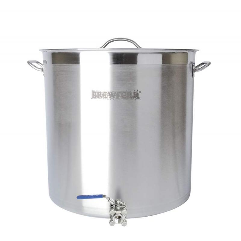 Brewferm varný hrnec s kulovým kohoutem SST 98 l (50 x50 cm)
