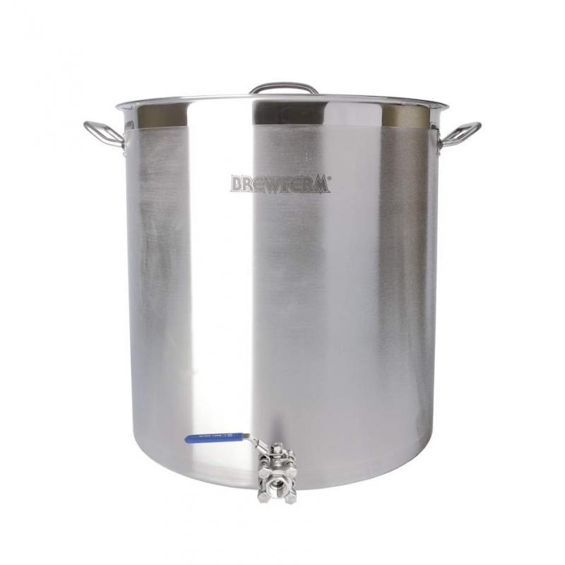 Brewferm varný hrnec s kulovým ventilem SST 143 l (55 x 60 cm)